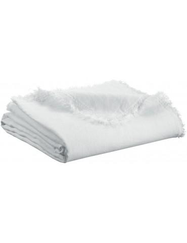Plaid Zeff Nomade Blanc 130 x 180 2437010000Vivaraise