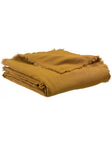 Plaid Zeff Nomade Bronze 130 x 180 2437085000Vivaraise
