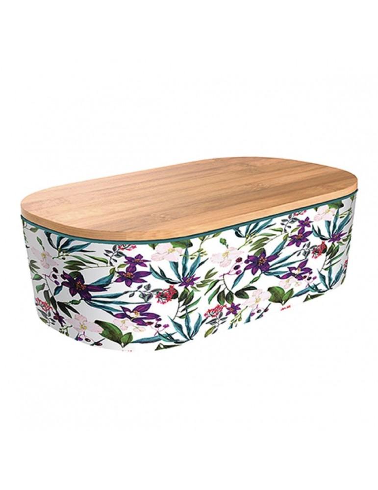 Bamboo lunchbox Jungle Blooms CMBLB946Kiub