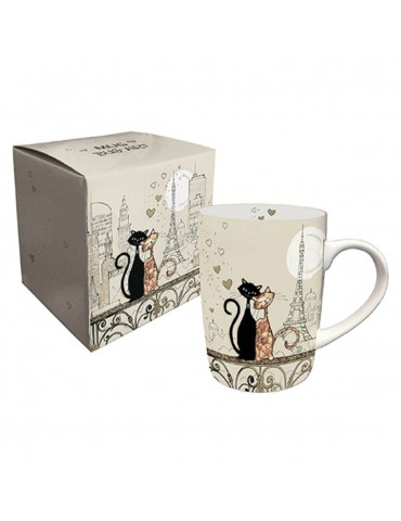 Mug Couple Chat Paris MUG01A07Kiub