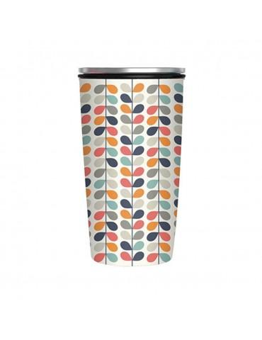 Mug de voyage Bamboo luxe slide cup 420 ml range de feuilles CMBCS103Kiub