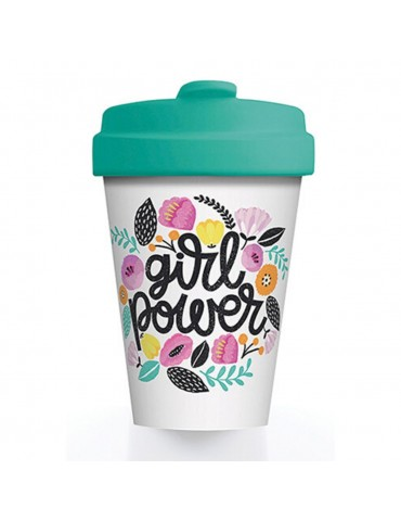 Mug de voyage chic mic girl power 400 ml Bamboo Cup CMBCP302Kiub