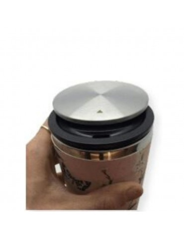 Mug de voyage Bamboo luxe slide cup 420 ml jungle feuilles CMBCS107Kiub