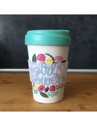 Mug de voyage chic mic girl power 400 ml Bamboo Cup CMBCP302Kiub