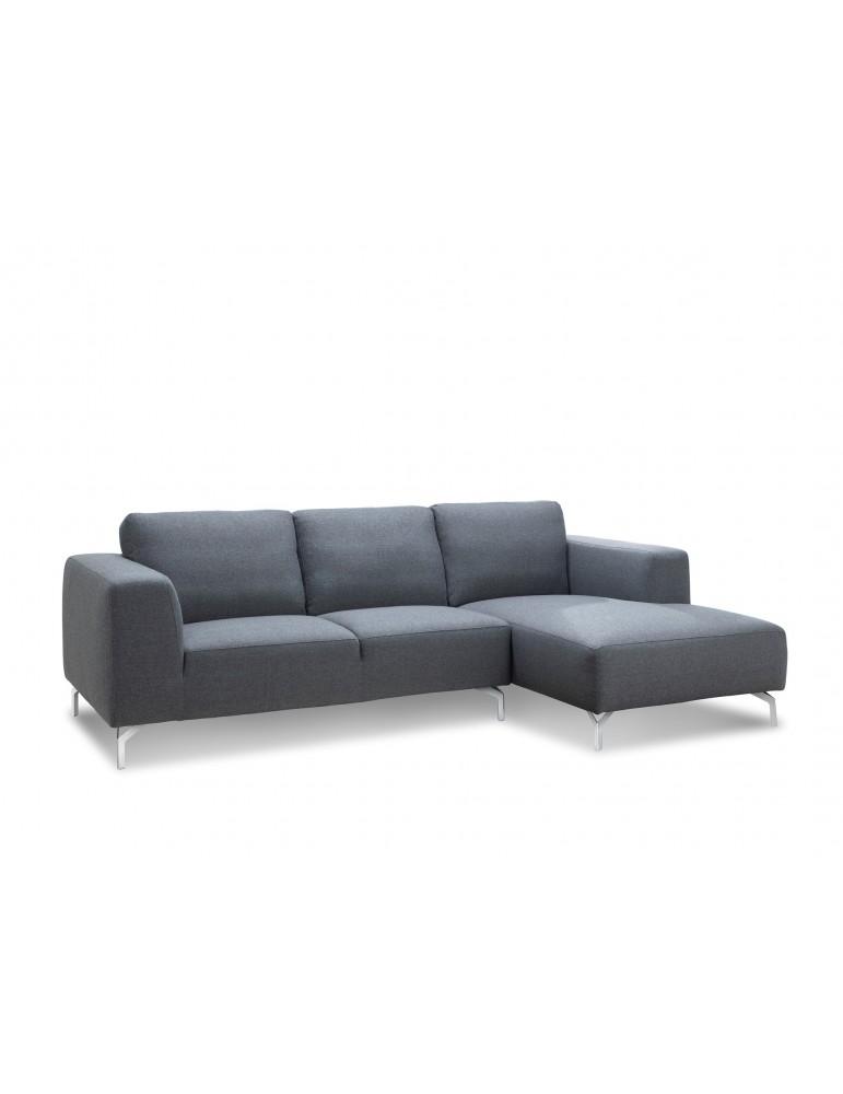 tim gris city canape d 39 angle en tissu angle droit c103 citygrey ad. Black Bedroom Furniture Sets. Home Design Ideas