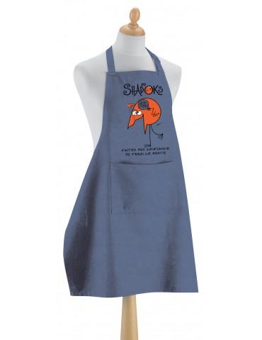 Tablier de cuisine Shadoks La confiance Jeans 90 x 72 4434065000Winkler