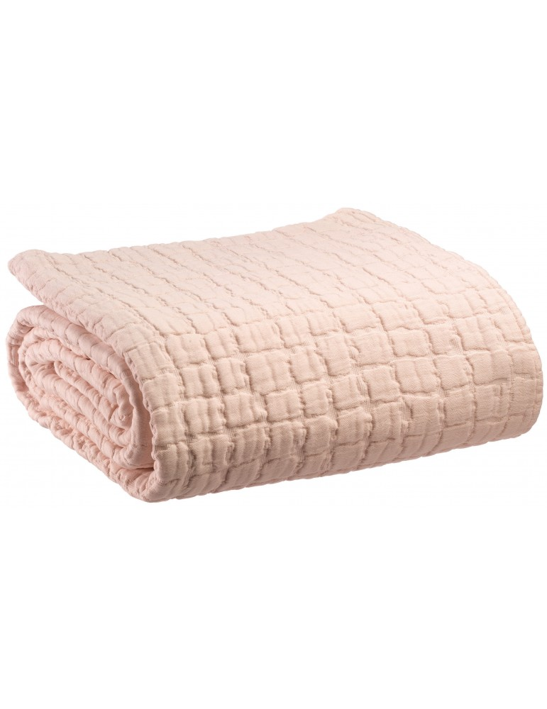 Couvre-lit stonewash Swami Nude 240 x 260 3816016000Vivaraise