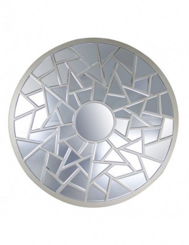 Miroir rond olympe gd8485z for Deco miroir rond