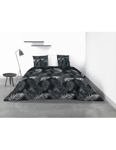 Parure de lit 2 personnes Petiola avec housse de couette et taies d'oreiller Imprimé 260 x 240 4344000503Les Ateliers du Linge