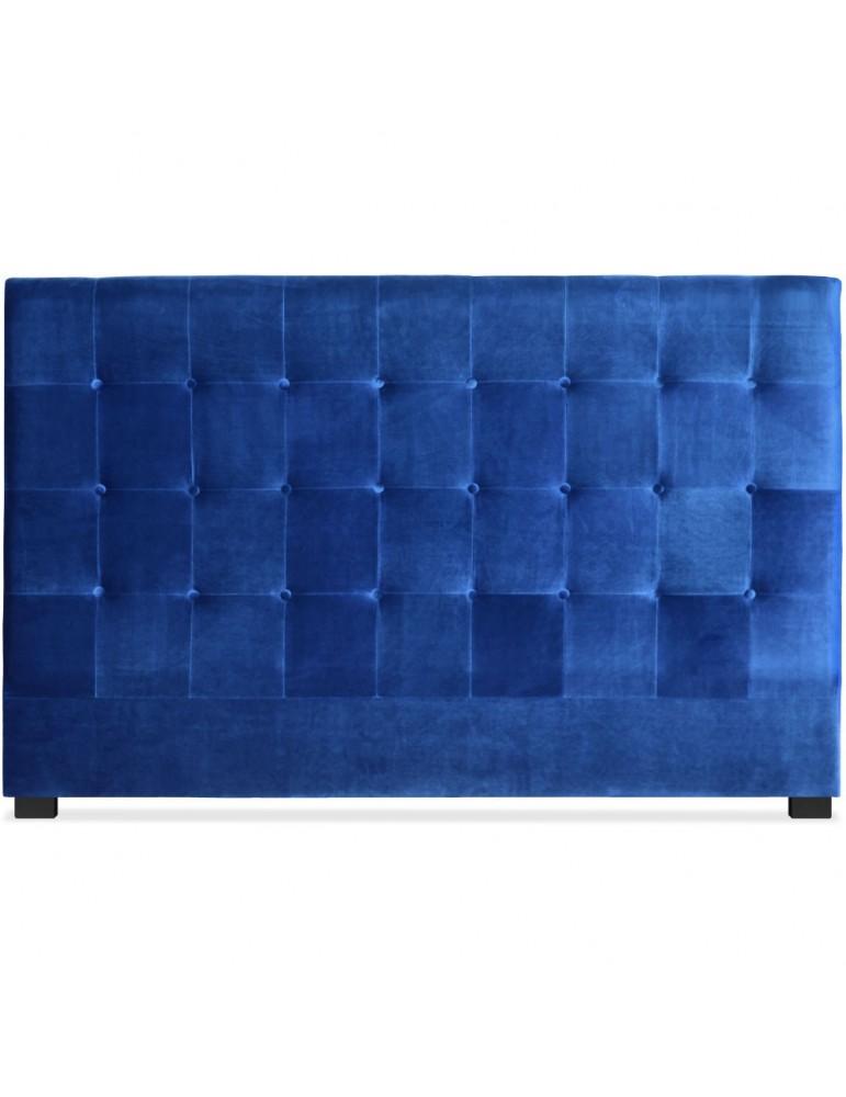 Tête de lit Luxor 180cm Velours Bleu lf155h180vblue