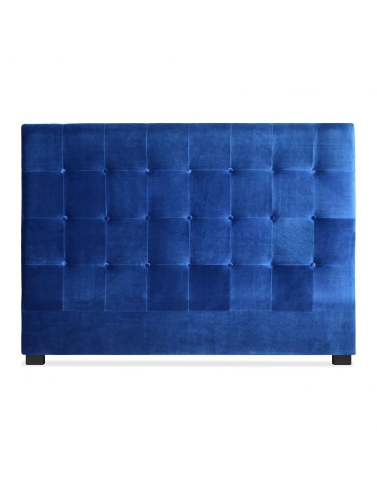 Tête de lit Luxor 160cm Velours Bleu lf155h160vblue
