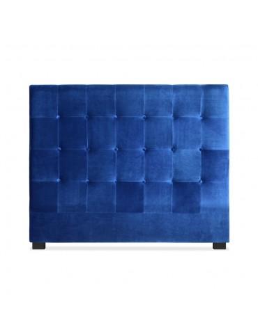 Tête de lit Luxor 140cm Velours Bleu lf155h140vblue