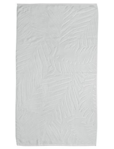 Drap de douche uni Palme Blanc 70 x 130 4817010601Les Ateliers du Linge