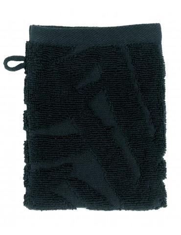 2 gants de toilette Palme Caviar 15 x 21 4491078602Les Ateliers du Linge