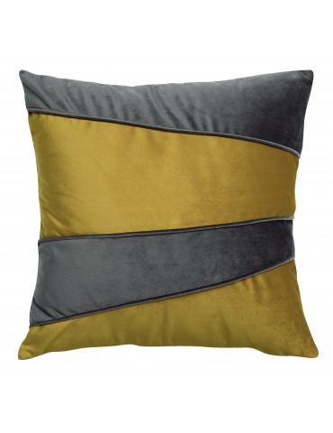 Coussin patch Eveal Gold 40 x 40 4501042000Les Ateliers du Linge