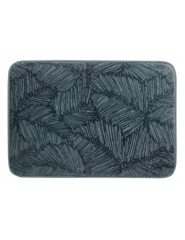 Tapis de bain Palme Bleu 45 x 65 3971064000Les Ateliers du Linge