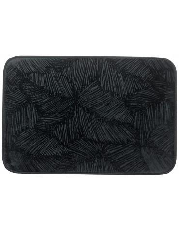 Tapis de bain Palme Caviar 45 x 65 3971079000Les Ateliers du Linge