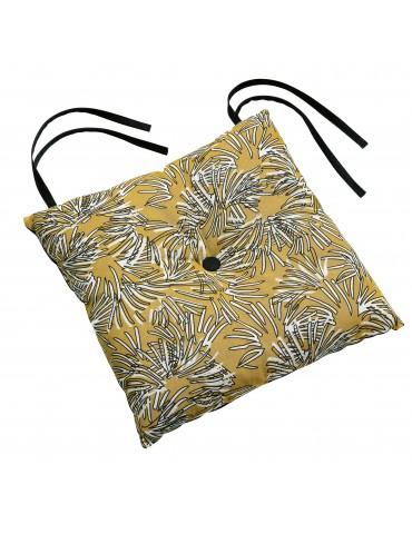 Galette de chaise Pamca Gold 38 x 38 x 3 cm 4878041000Les Ateliers du Linge