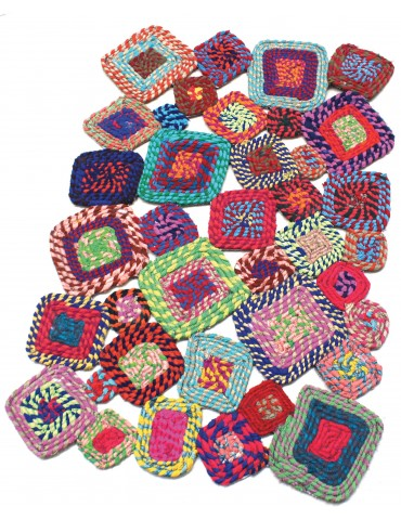 Tapis Gunray Multicolore 60 x 90 5373090000The Rug Republic