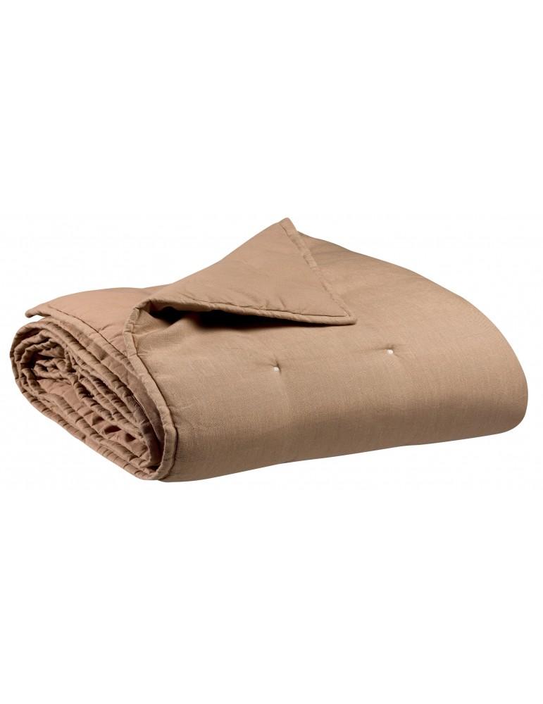 Jeté stonewashed Zeff Sable 180 x 260 3045016000Vivaraise