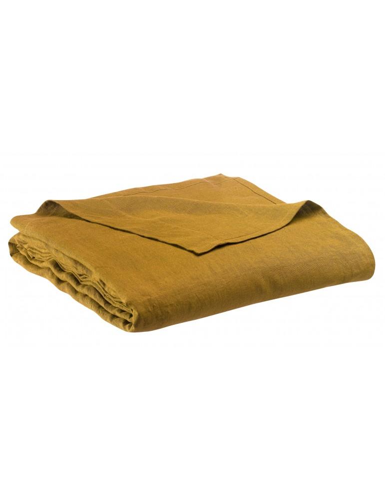 Drap plat stonewashed Zeff Bronze 240 x 300 1308877000Vivaraise