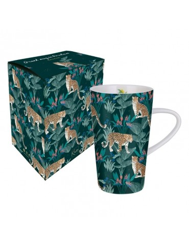 Grand mug 420ml avec sa boite cadeau Savane Léopard MUGGM19S02Kiub