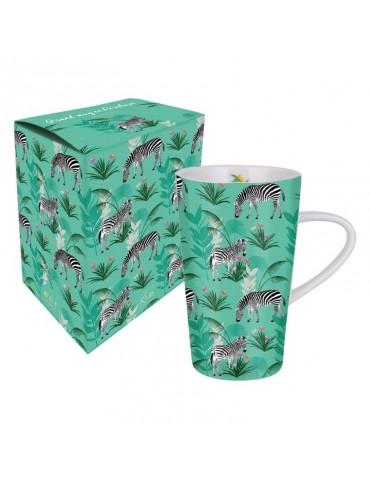 Grand mug 420ml avec sa boite cadeau Savane Zèbre MUGGM19S01Kiub