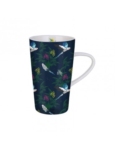 Grand mug 420ml avec sa boite cadeau Savane oiseau MUGGM19S03Kiub