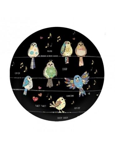 Presse papier dôme oiseaux BVPP03C03Kiub