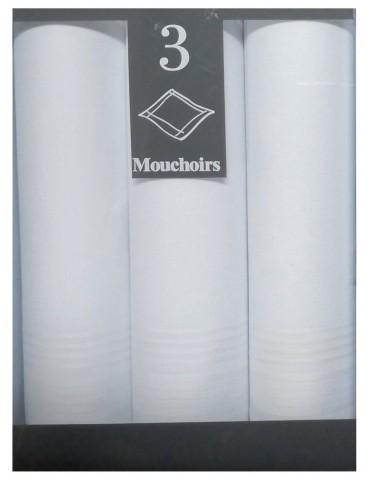 Boîte de 3 mouchoirs Luxe femme Nais Assortis 29 x 29 5787090703Winkler
