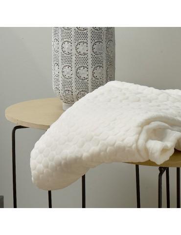 Plaid Bulby Ecru 130 x 160 7456110000Les Ateliers du Linge