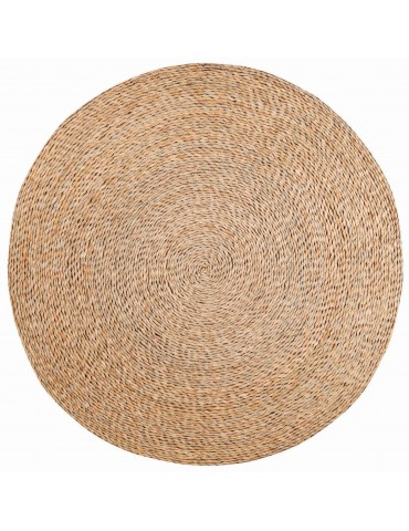 Tapis Rushy Naturel diamètre 120 cm 1033080056Vivaraise