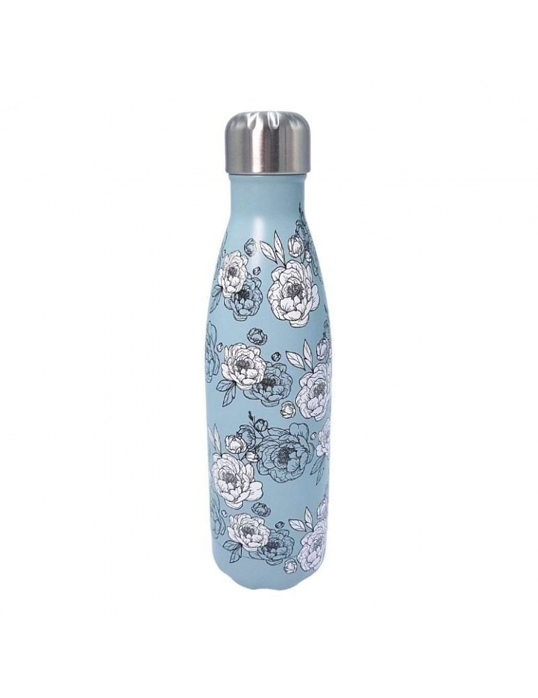 Bouteille isotherme inox 500ml - Pivoines LTBOT46Label'tour