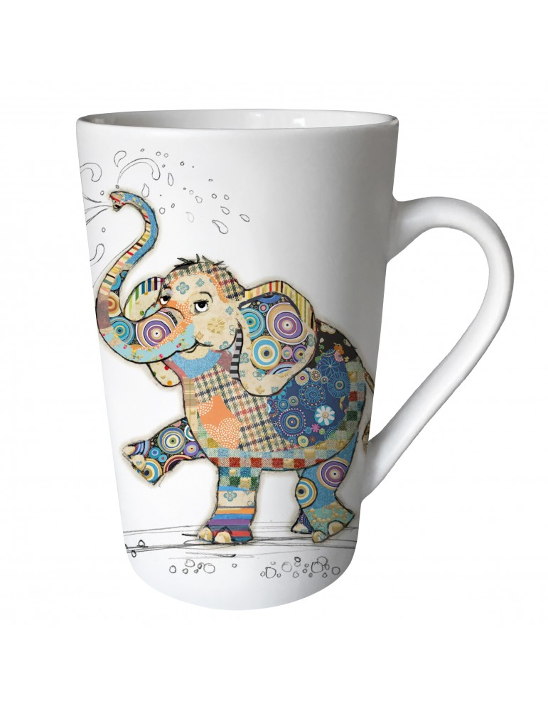 "Mug XL conique mat 435 ml ""KOOK"" éléphant MUGTG21U11Kiub"