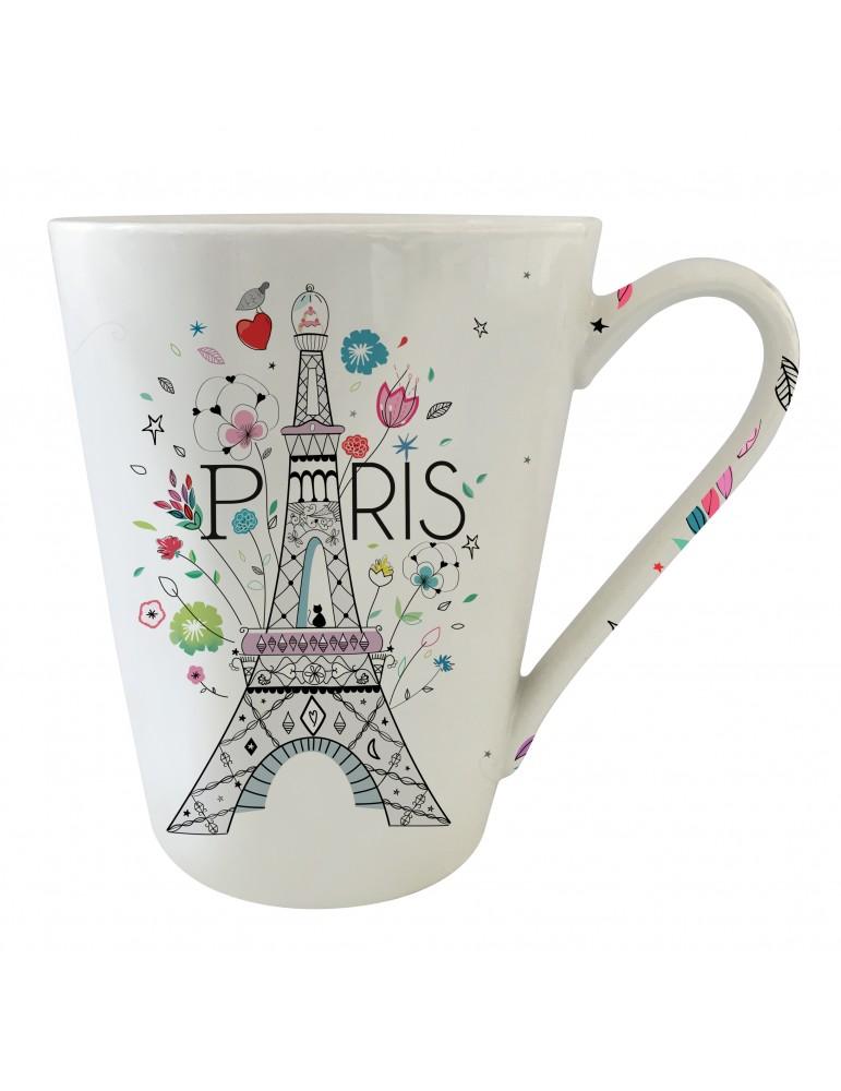 Mug conique 350 ml Paris MUG30D01Kiub