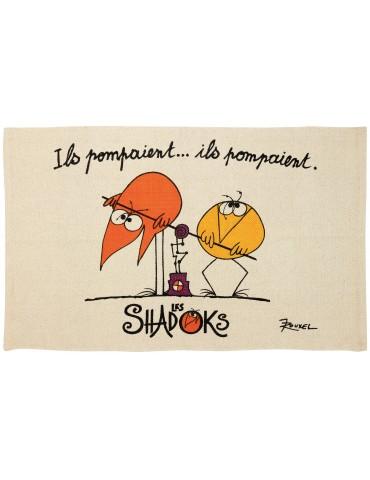 Tapis Les Shadoks pompaient Ecru 60 x 90 7250010000Winkler