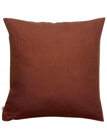 Taie d'oreiller stonewashed Zeff Caramel 65 x 65 1308857000Vivaraise