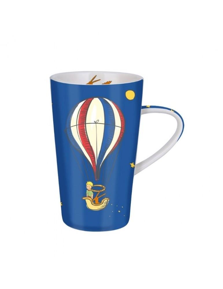 Mug XL conique 420ml Le Petit Prince à Paris Montgolfière avec sa boite cadeau MUGGM26Z01Kiub