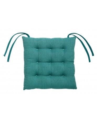 Galette de chaise piquée 9 points Maza Paon 38 x 38 x 4 cm 6399025000Les Ateliers du Linge