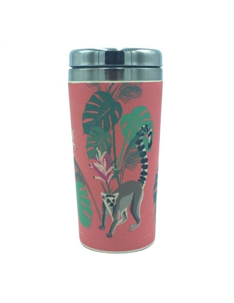Mug isotherme 420 ml Savane Lémurien MUGBAM19S04Kiub