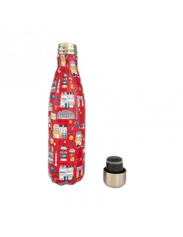 Bouteille isotherme 500 ml Le Tout Paris Rouge BOUTH32F01Kiub