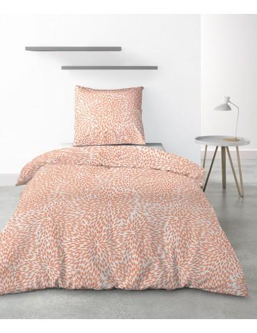 Parure de lit 1 personne Lantana avec housse de couette et taie d'oreiller Imprimé 140 x 200 6876000502Les Ateliers du Linge