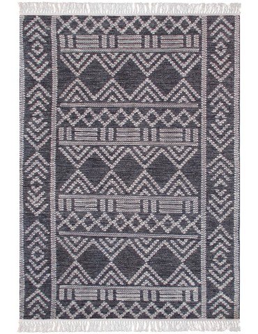 Tapis Maïs Charbon/ivoire 160 x 230 4577079000The Rug Republic