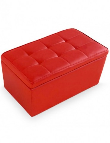 Banquette Coffre Manille Rouge benchrouge