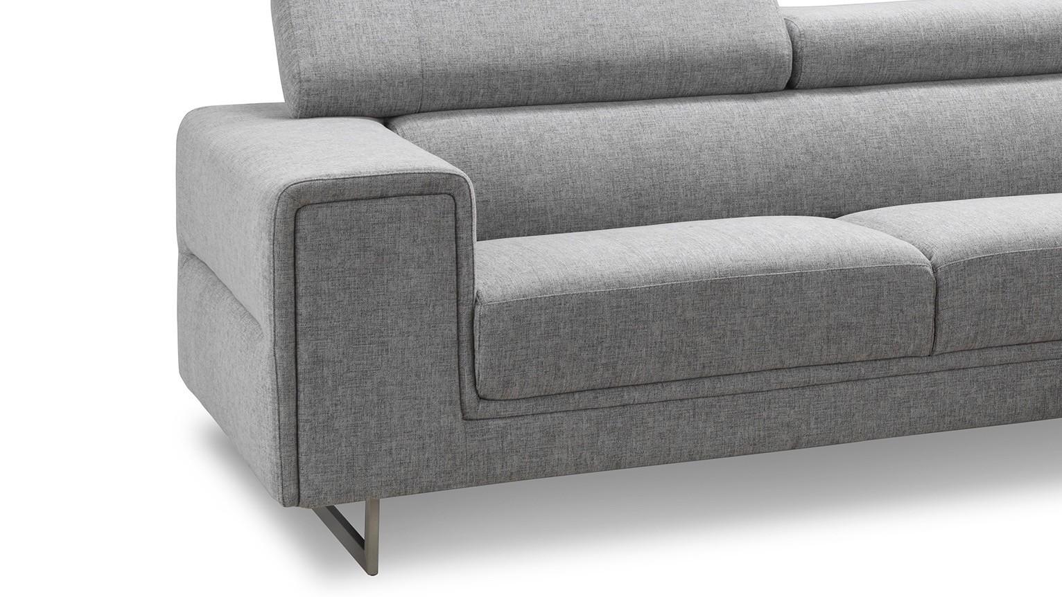street ellen shale canape d 39 angle avec appuis tete en. Black Bedroom Furniture Sets. Home Design Ideas