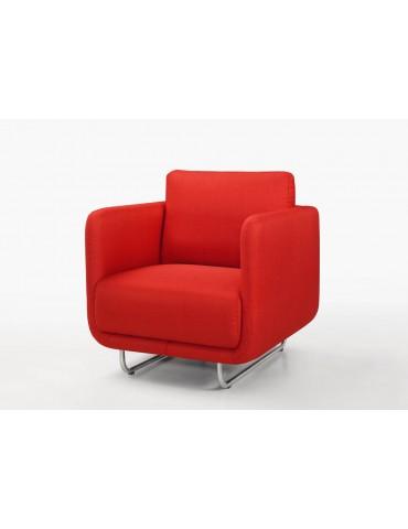 RUN Rouge - Fauteuil en tissu Season C118-RED