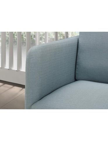 RUN Bleu - Fauteuil en tissu Season C118-BLUE