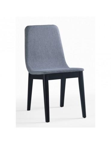 FELICIO Chaise - Lot de 2 Chaises en tissu et bois d'interieur CITY-FELICIO-CHAISE