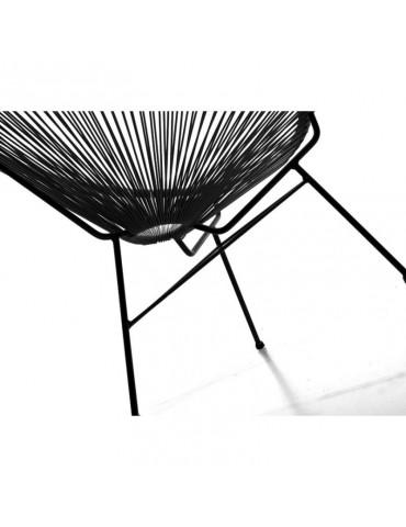 SD3001 Noir - Fauteuil design SD3001-BLACK