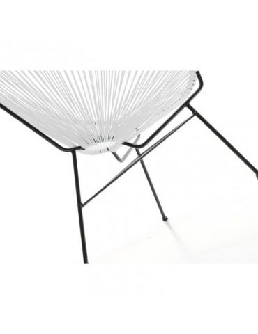 SD3001 Blanc - Fauteuil design SD3001-WHITE